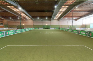 Beste Vorraussetzungen für guten Hallenfußball